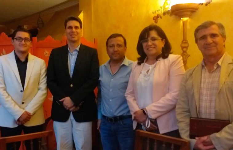 Representantes de los gremios de la construcción de Cuenca se reúnen con el nuevo Alcalde