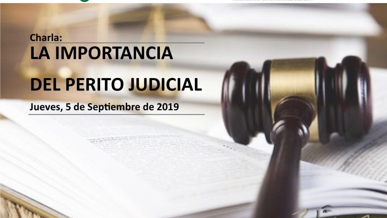 LA IMPORTANCIA DEL PERITO JUDICIAL