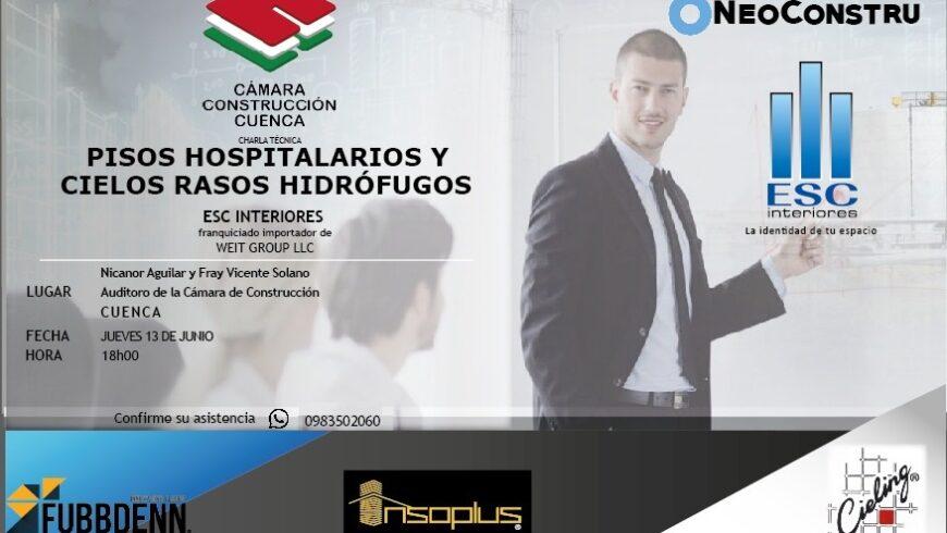 PISOS HOSPITALARIOS Y CIELOS RASOS HIDRÓFUGOS