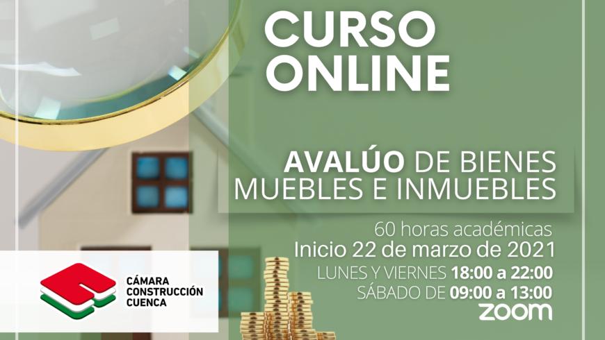 AVALÚO DE BIENES INMUEBLES Y MUEBLES ONLINE